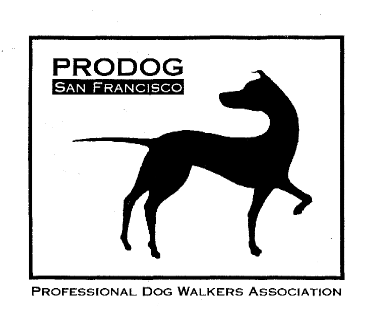 PRODOG, San Francisco professional dog walkers association logo